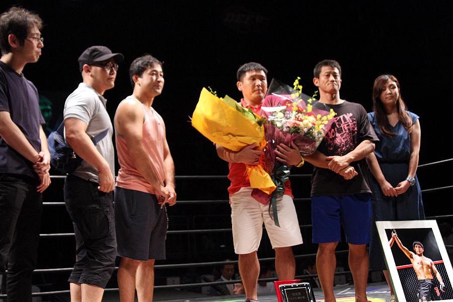 長谷川賢&元谷友貴、RIZINからの再起戦で1R勝利:8.27 有明