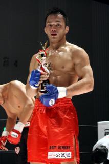 メインで勝利した梶田高裕