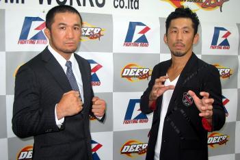 中村(左)と伊藤