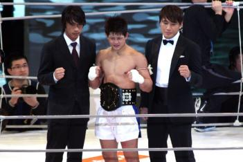 2008年優勝時のHIROYA