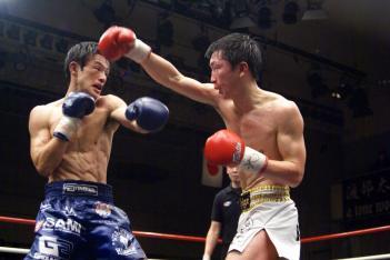 藤原祭でのSHIGERU vs. 藤牧孝仁
