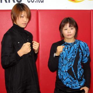 HIROKO(左)と赤野