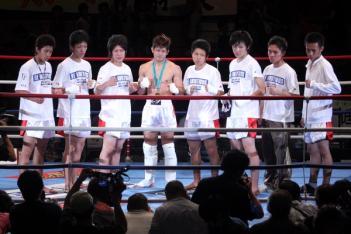 2009年62kg級のベスト8
