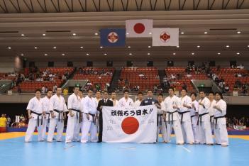 日本代表集合写真