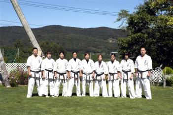 大会初日(4日)に同時開催される女子世界大会に出場するメンバーも合宿に参加した