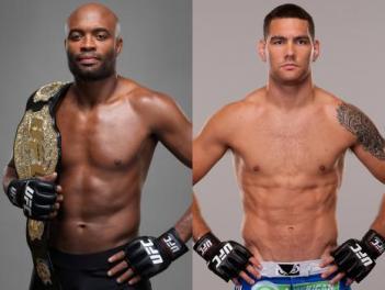 アンデウソン・シウバ、クリス・ワイドマン(c)Photo Courtesy of UFC