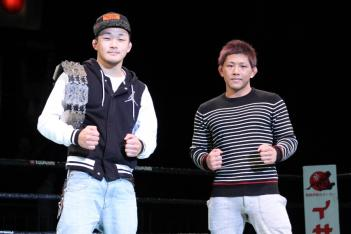 八田亮(左)と伊藤盛一郎